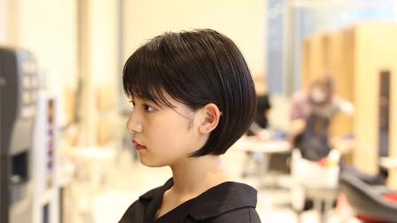 """最近很火的挂耳""""波波头"""",减龄显脸小,越来越多妹子指定这样剪"""