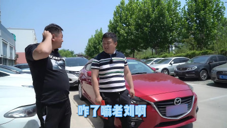 """""""凤雏""""收车本领""""堪称一绝"""":今天又把一台马自达的畅销车撵走了"""