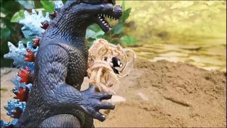 怪兽太可怕了,赶紧逃跑啊(一)