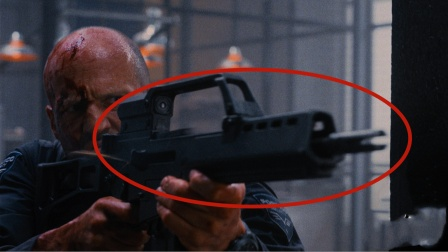 在《人之怒》里面,防弹衣挡住了步枪连续射击,现实中能做到吗?