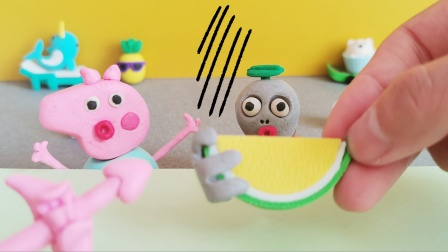 原创黏土定格动画:小僵尸玩魔法棒,把自己变成了鸟,太逗了!