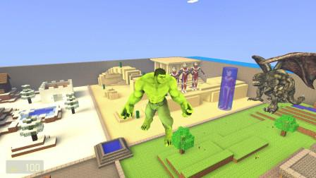小黑变成绿巨人能帮迪迦救出泰罗叔叔吗?