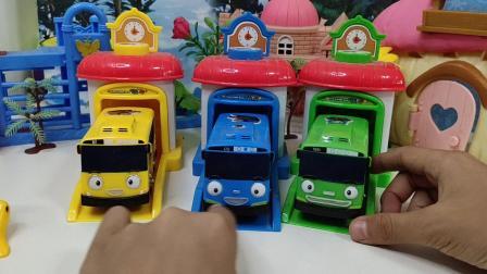 玩具,萌娃,分享小巴士车玩具视频