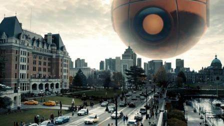 电影:天上出现巨型眼球,人类盯着看3秒,就会被当场定住!