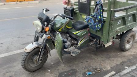 三轮车油刹经常爆死不回位该怎么解决?师傅教你调整一个拉杆就能修好