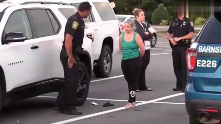 美国警察查酒驾,跟我们不大一样,你觉得哪一个更科学