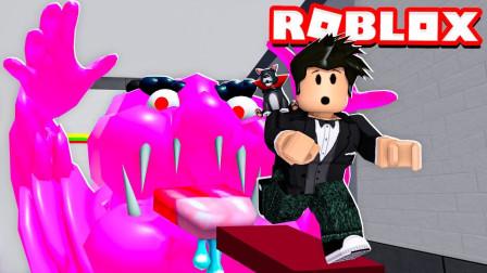 ROBLOX逃离糖果店:被巨大糖果一口吞了下去!面面解说