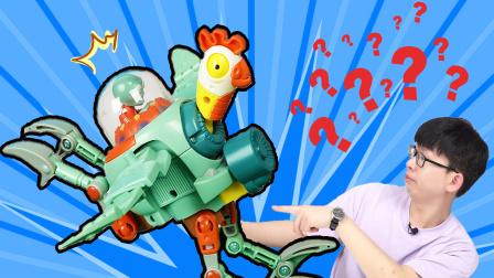 开箱植物大战僵尸之僵尸鸡守护者玩具,这又是博士的新发明?