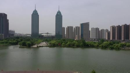 背山面水,枣庄最好的地方凤鸣湖,规划确实漂亮大气