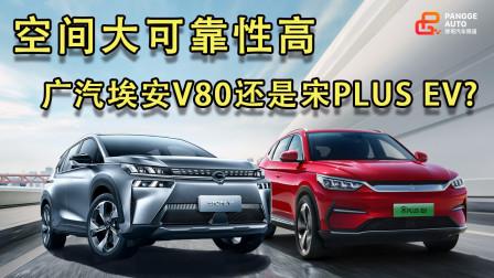 《胖哥选车》空间大可靠性高,广汽埃安V80和宋PLUS EV选谁?