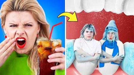 百事可乐女孩vs可口可乐女孩,如果饮料是人的话会怎么样呢