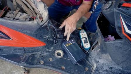 电动车不充电不要急!教你接一根线立刻搞定,修车就是这么简单