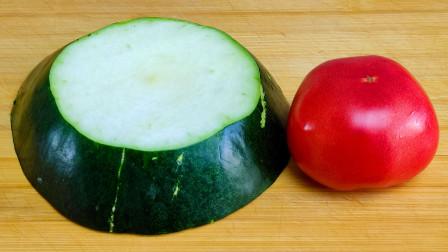 夏天多吃冬瓜,加一个西红柿,教你好吃做法,鲜嫩营养,太香了