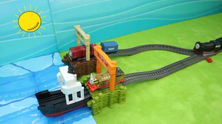 托马斯玩具 小火车跨海航行