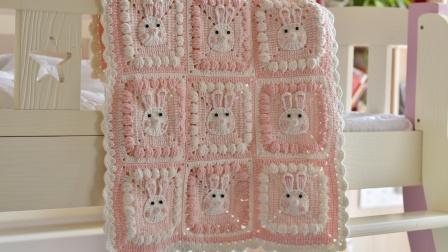 【A227】卡卡米妮_动物毯子兔子教程