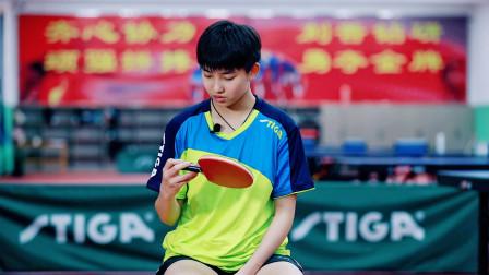 11岁拿磨砺营冠军,12岁打进国青,13岁的她下一站会是中国女乒吗