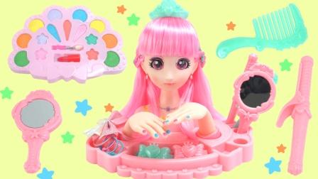 巴啦啦小魔仙美妆美甲套装玩具