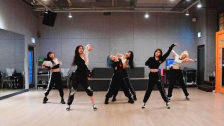 EVERGLOW 新曲热歌 舞蹈练习室