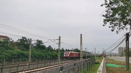 广铁广段HXD1D-0416牵引K435/8次列车(武昌->惠州)通过!(1)