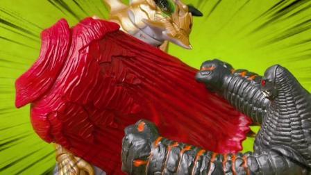 闪电杀手偷走凯撒皇帝的披风怪兽之间的对决谁将会获胜