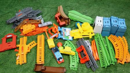 托马斯玩具 超级多多岛套装开箱