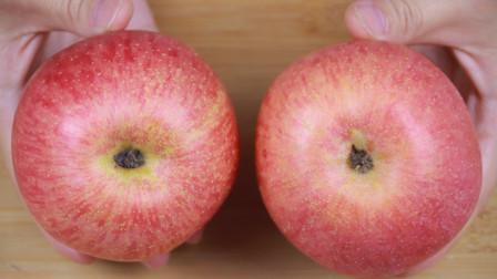 买苹果,越红越好?老果农教我一招,甜不甜一眼看出,方法太棒了