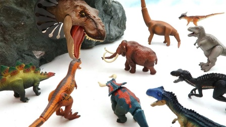 不同材质的恐龙蛋孵化出小恐龙