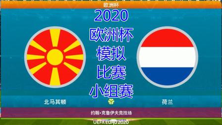 2020年欧洲杯,模拟比赛,北马其顿vs荷兰