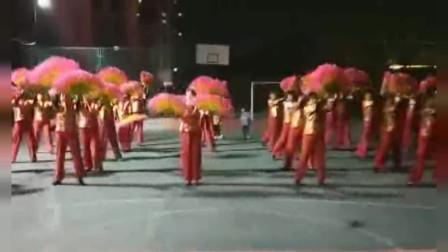 2021年鹤壁市西臣投社区文艺汇演节目排练相册留念
