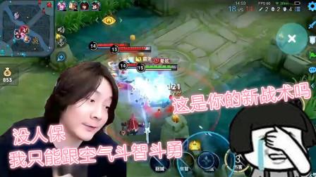 王者荣耀:张大仙玩射手辅助只来看一眼,无奈与空气斗智斗勇?网友:这是新玩法?