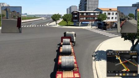 欧卡2:第3期 卡车司机几分钟就可以挣到三百多块,恋墨发财了