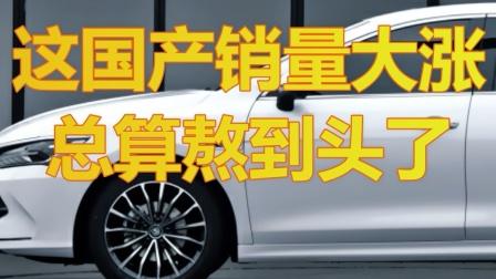 这个国产车企销量大涨,总算熬到头了