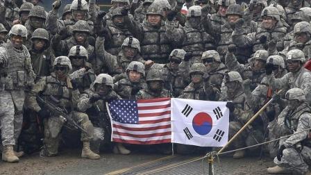 驻韩美军闯大祸了?深夜街头突发大规模混乱,韩警局紧急出动施压