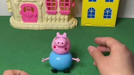 趣味玩具:猪爸爸偷吃乔治的眼珠糖
