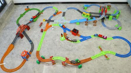 托马斯玩具 培西多玩法百变轨道套装