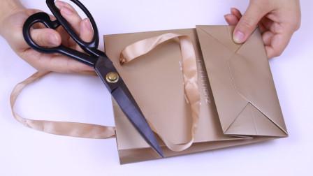 购物袋剪一刀,没想到这么实用,很多人都不知道,看完长见识了