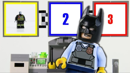 乐高实验蝙蝠侠拼砌僵尸定格乐高人仔拼-乐高.
