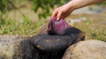 简简单单吃个锅灰猪肝!