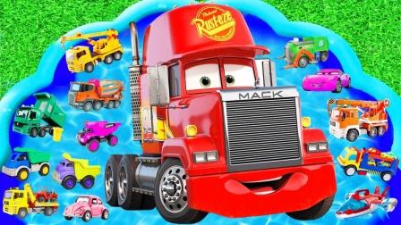 启蒙英语玩具:校车、怪物卡车、救护车