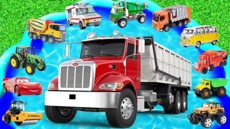 启蒙英语玩具:校车、怪物卡车、救护车、警车
