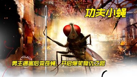 这只苍蝇成精了,单挑高富帅,争夺美人爱!电影《功夫小蝇》
