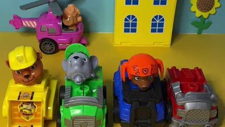 趣味玩具:汪汪队露玛找不到自己的车