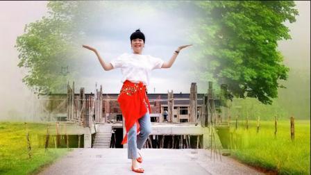 麦芽广场舞《来吧跳舞》中文版 海来阿木演唱