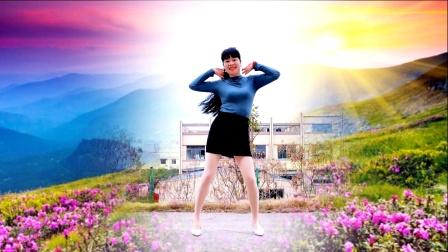 DJ歌曲《花花世界》大众健身广场舞
