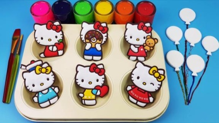 魔法染料盘魔力72变,HKT小猫儿童玩具激发宝宝色彩创造力!