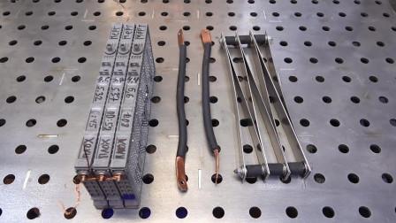 丰田镍氢电池大电流放电测试,从结果来看比锂电池要安全