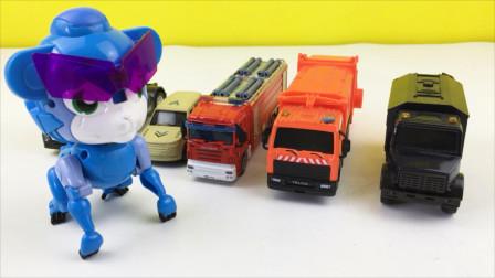 猪猪侠分享消防水炮车模型玩具
