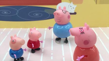 小猪一家分好吃的,大家都分到了什么?为什么猪爸爸不开心?