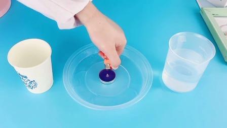 科学实验:纸杯不着火!