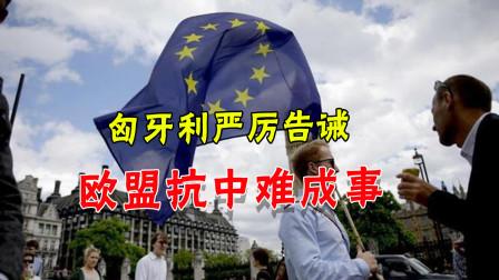 涉港声明永远无法通过!匈牙利严词教育欧盟,对中国胡闹没有未来